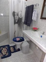 baño hab azul